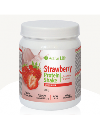 Truskawkowy Shake Proteinowy z...